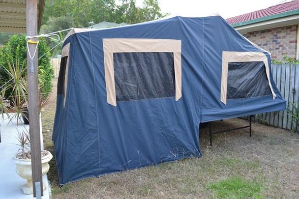 Camper Setup - Back