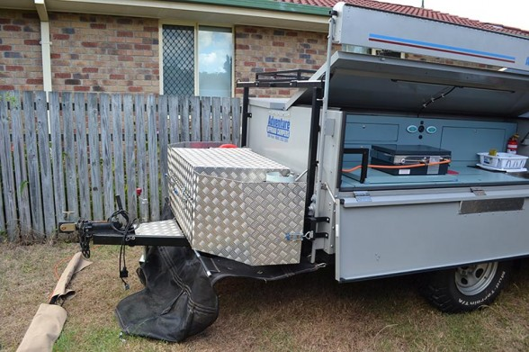 Camper Setup - Front