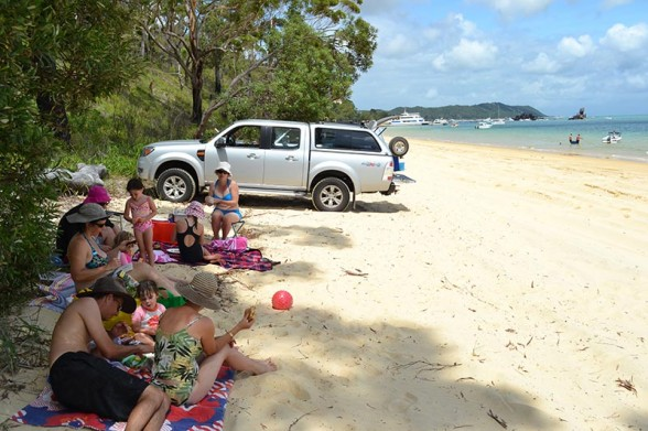 Moreton Island - Lunch at The Wrecks
