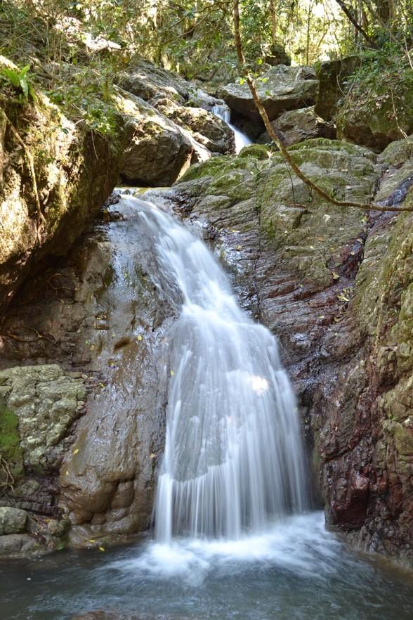 Amamoor Creek - Waterfall