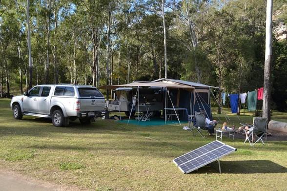 Cania Gorge - Camper Setup