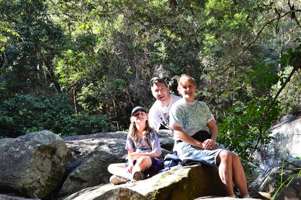 Cania Gorge - Family SHot