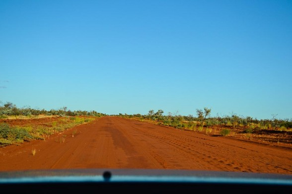 Alice Springs, Red road of the Plenty Hwt