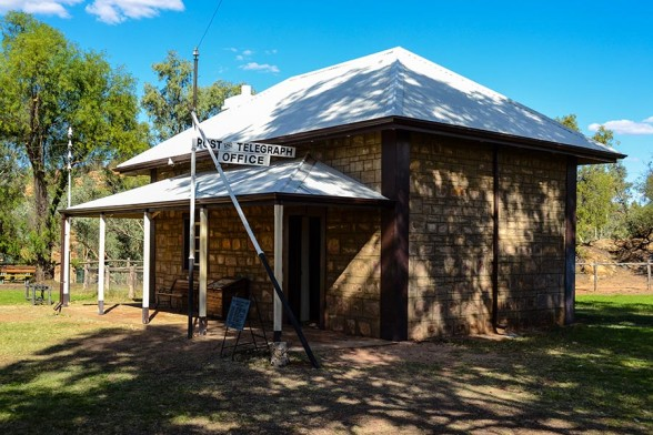 Alice Springs, Old Telegraph Station