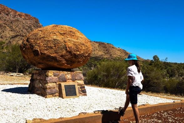 Alice Springs, John Flynn's Grave