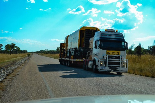 Broome, Train Truck