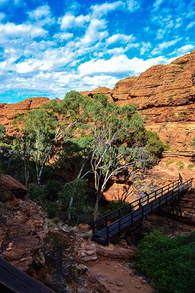 Kings Canyon, Bridge Crossing