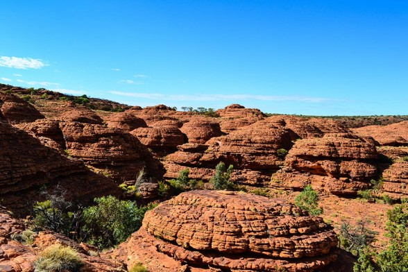 Kings Canyon, Domes