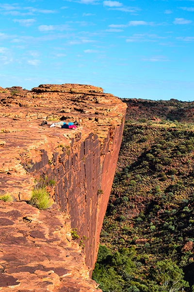 Kings Canyon, Overhang