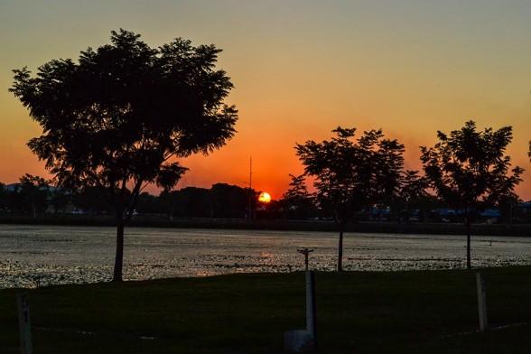 Kununurra, Campsite Sunset