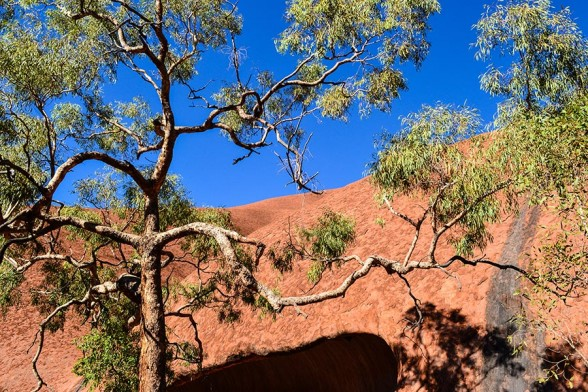 Uluru, Colour Contrast