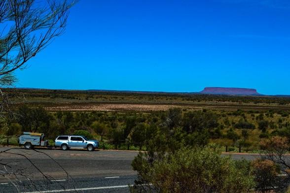 Uluru, Mt Connor, Lunch Break