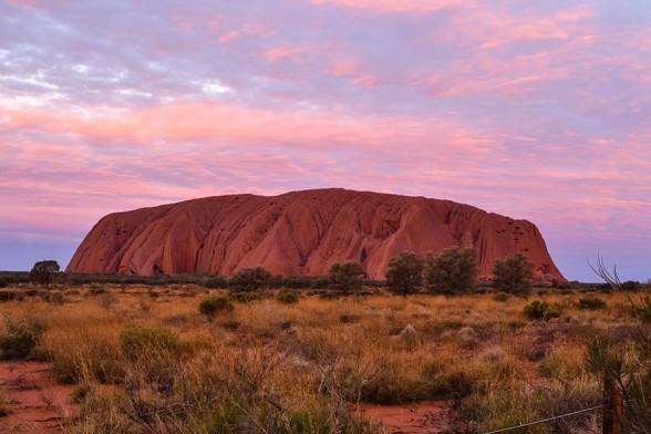 Uluru, Sun Setting