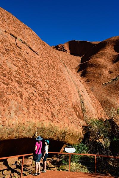 Uluru, Up Close