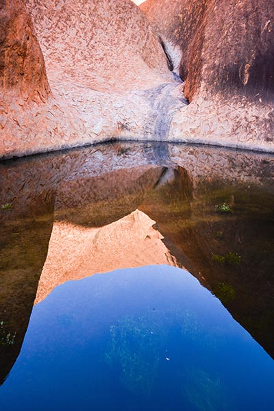 Uluru, Waterhole Reflection