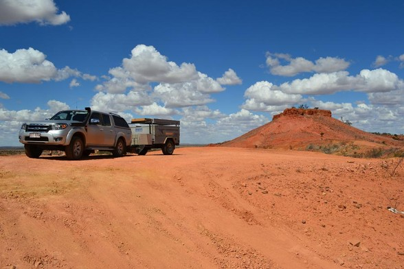 Winton to Boulia - the 'Jump up'