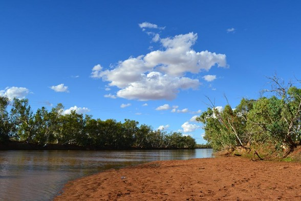 Boulia - Bourke river