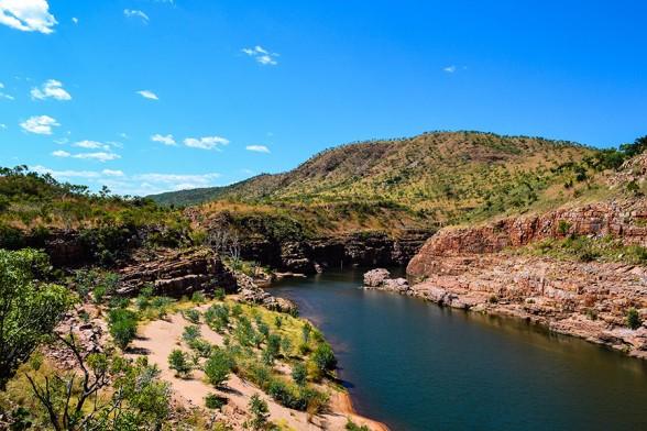 Gibb-River-Road, El Questro Explosion Gorge