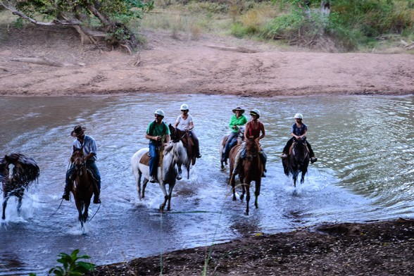 Gibb-River-Road, El Questro Horse Riding