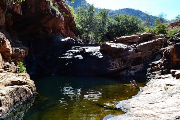 Gibb-River-Road, El Questro Ochre Falls