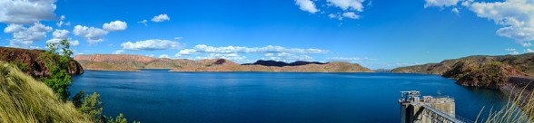 Lake-Argyle, Panorama