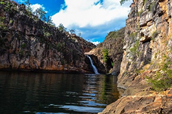 Kakadu, Barramundi Falls