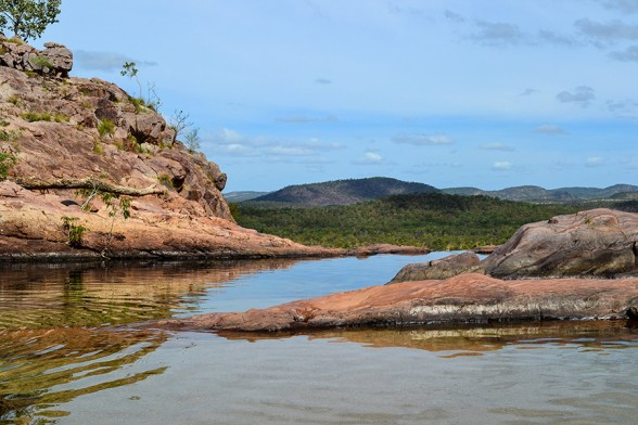 Kakadu, Gumlom Top Pools